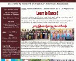 FREE Myanmar (Burmese) Cultural Dance Class in Los Angeles Area: July & August, 2019